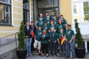 Tyske ungdommer på gjengrodde stier