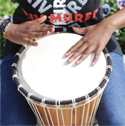Trommer for Fred - Drumming for Peace