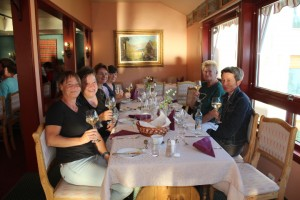Gjestene fra Berlin bodde på Revsnes hotell i Byglandsfjord